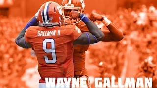 "Wayne Gallman    ""Wayne Train""   "