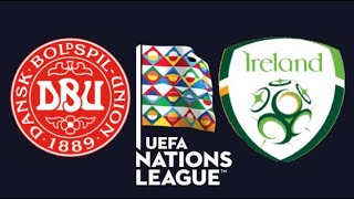FIFA 19 DENMARK VS IRELAND UEFA NATIONS LEAGUE