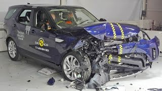 Land Rover Discovery (2018) Crash Test [YOUCAR]