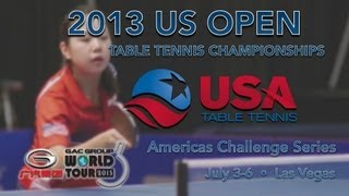 2013 US Open - Finals (Day 4 - Afternoon Session)