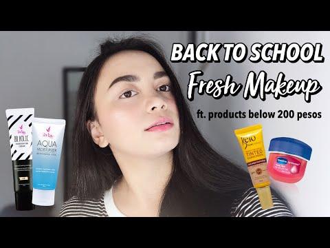 Back to School Makeup (ALL UNDER 200 PESOS) | Nikki Valiente