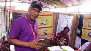 CARE Bangladesh works to provide health services to the Myanmar refugees in Bangladesh