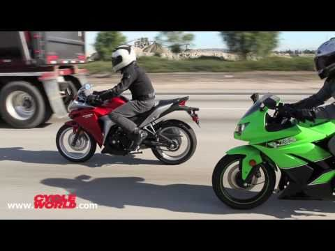Kawasaki Ninja 250R vs. Honda CBR250R Bonus Video