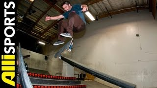 How To Nollie Kickflip, Jimmy Carlin, Alli Sports Skate Step By Step Trick Tips