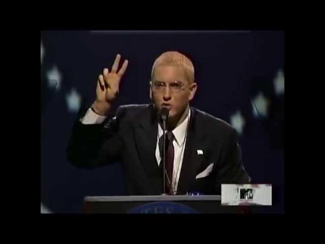 SLIM SHADY PRESIDENTIAL SPEECH (FEAT. DONALD TRUMP) TRUMP PRAISES EMINEM