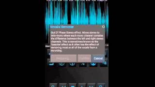 Make karaoke song in Android by removing vocal