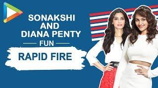 "Sonakshi Sinha: ""Ranveer Singh is already a LEGEND""   RAPID FIRE   Dabangg   Salman   Diana"