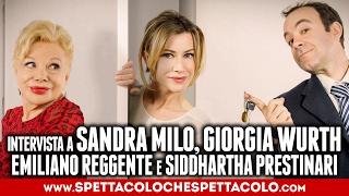 100 m2 | Sandra Milo, Giorgia Wurth, Emiliano Reggente e Siddhartha Prestinari intervistati