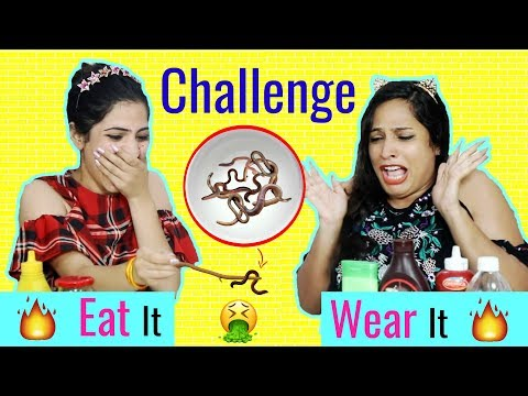 Xxx Mp4 EAT It Or WEAR It Challenge MyMissAnand Anaysa ShrutiArjunAnand 3gp Sex
