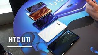 HTC U11 Hands-on & First Impressions