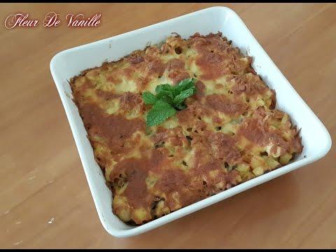 Gratin au poulet & pommes de terre Chicken & potatoes gratin غراتان الدجاج و البطاطا