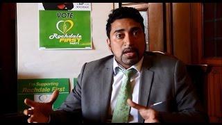 General Election 2015 - Rochdale - Farooq Ahmed - Rochdale First