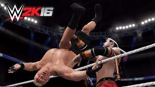 WWE 2K16 : Brock Lesnar vs Tony Jaa - Best Fight Of the history