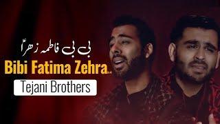 Noha Bibi Fatima Zahra 2019   Tejani Brothers   Ashkon Ka Wasta Bibi Fatima Zehra   Muharram 1440H