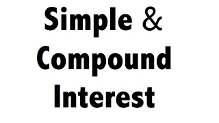 Simple & Compound Interest tricks - IBPS SBI Bank PO SSC CGL CHSL