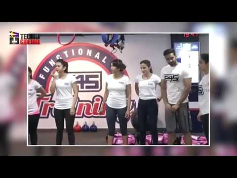 Actress Rakul Preet Singh GYM VIDEO | Tollywood Celebrities Gym Video | Telugu Cinema