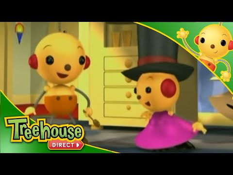 Rolie Polie Olie - Where's Pappy? / Hopin and a Hoppin / Just Like Dad - Ep.6