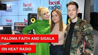 """""""Bruno Mars asked me to be his chef"""" - Paloma Faith and Sigala play the Brag Off"""