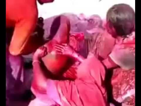 Holi Masti with New Bhabhi