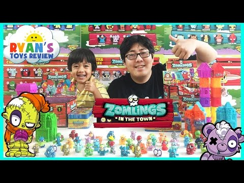 Zomlings In The Town USA Series 1 Opening Surprise Toys