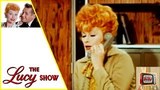 THE LUCY SHOW | Lucy Gets Trapped | S6E2