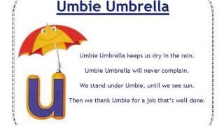 Alphafriends: Umbie Umbrella