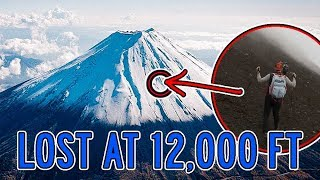 INSANE! Lost on top of Japan