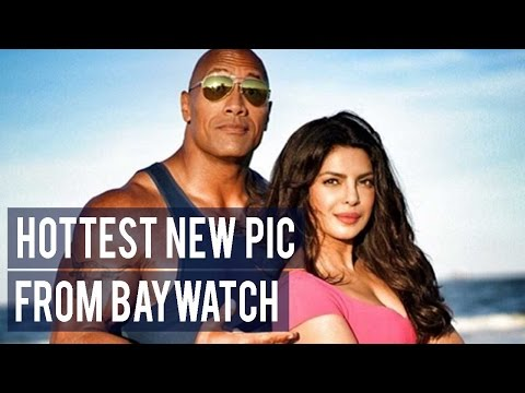 Priyanka Chopra shares the HOTTEST new still from Baywatch to wish Dwayne 'The Rock' Johnson on his