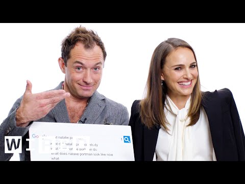 Natalie Portman & Jude Law Answer the Web s Most Searched Questions WIRED