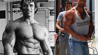 Arnold Vrs the Rock en el gym | Motivacion