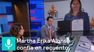 Martha Érika Alonso confía que mantendrá triunfo electoral en Puebla - Despierta con Loret