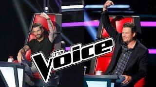The Voice 2015 Blind Auditions Pt. 2 Recap: Adam Beats Blake