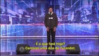 Luiz Meneghin, Brasileiro e Mórmon, Emociona o Público do America's Got Talent