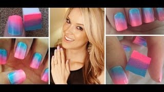 How To ♥ ONE Step Ombre Nails!!!