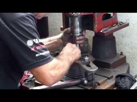 Retificando Cilindro Honda CG 125