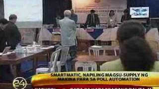 Smartmatic picked as poll automation contractor