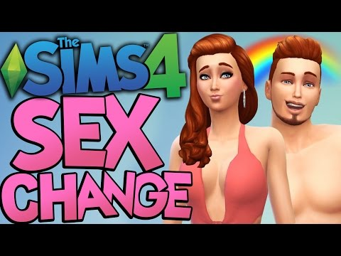 Sims 4 - EVERYBODY GETS A SEX CHANGE !!! - The Sims 4 Transgender Update