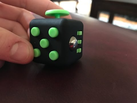 Fidget Cube unboxing and review