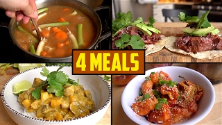 4 Ingredient Meals To Survive Winter