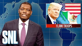 Weekend Update: Trump Deploys Troops to Stop Migrant Caravan - SNL