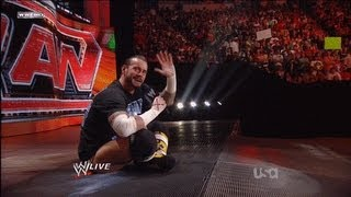 CM Punk Shoot On RAW 06/27/2011