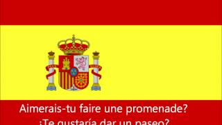 Apprendre l'Espagnol: Romance et Amour Phrases