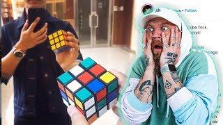 Magician Reacts to ACTUAL Magic!!