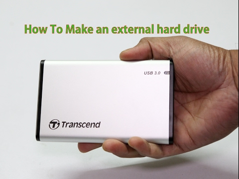 How To Make an external hard drive from an Old Laptop drive