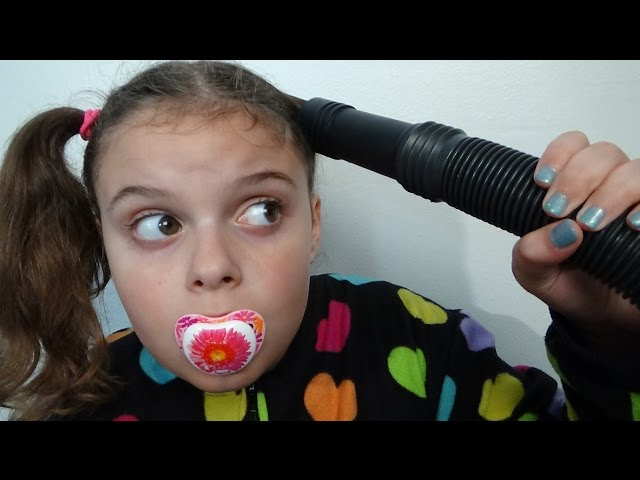 Bad Baby Victoria vs Hungry Vacuum Part 2 Annabelle Freak Daddy Toy Freaks