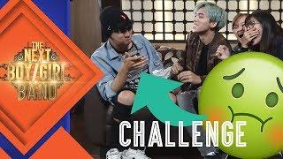 CHUBBY BUNNY CHALLENGE! | #3 CHALLENGE | The Next Boy/Girl Band S2 GTV