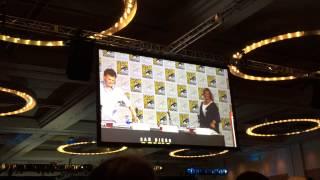 SDCC Comic Con 2015 Sherlock panel part 2 intro panelists