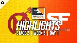 Florida Mayhem vs San Francisco Shock | Overwatch League Highlights OWL Stage 2 Week 5 Day 1