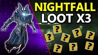 Destiny: My Exotic Nightfall Loot x3 Characters!