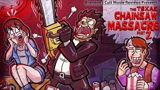 Brandon's Cult Movie Reviews: THE TEXAS CHAINSAW MASSACRE 2